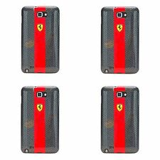 Samsung Galaxy Note i9220 original ferrari carbon effect Faceplate funda protectora