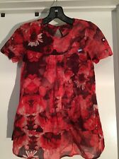 Made in Italy Richmond Jr Tunic Dress Floral Girls 11A