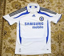2007- 2008 Chelsea FC, Third Football jersey by Adidas, Mens Small