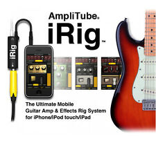 IK Amplitube iRig Guitar Amp Cable iPhone 6 Plus iPad FxRig Multimedia AmpliTube