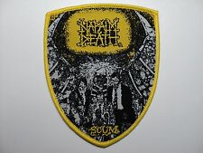 NAPALM DEATH SHIELD     WOVEN  PATCH