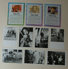 x10 Jazz & Blues POSTCARD lot Set NEW Howlin Wolf Robert Johnson wynton Marsalis