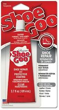 NEW 3.7 OZ SHOE GOO ADHESIVE GLUE VINYL RUBBER LEATHER REPAIR 0375568