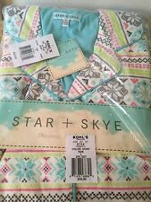 Women's Flannel Pajamas Large Star and Skye New Cats