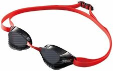 arena swimming Goggle non cushion type Smoke anti-fog AGL120 Red MADE IN JAPAN