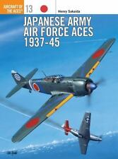 Japanese Army AF 1937-45 Osprey Publishing Aircraft of Aces Vol. 13 Very Good