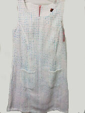 Isle Apparel  Sleeveless Jumper Style Dress Size Small  Tweed Type Fabric Size S