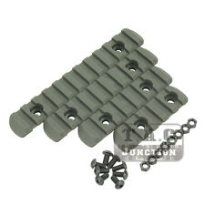 Tactical Advanced Polymer Picatinny Weaver Rail Section Set for MOE Hand Guard