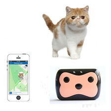 Mini GPS Tracker Waterproof Smart Locator For Pet Dog Cat Real Time GPS Tracking