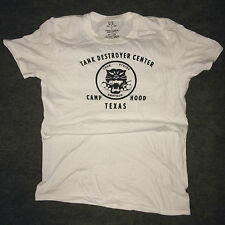 WWII US Army Tank Destroyer Camp Hood Texas T Shirt Repo Spec Tag Mens size S-XL