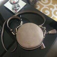 NWT COCCINELLE cross body bag, taupe color