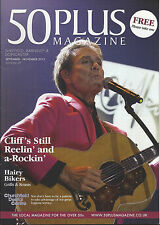 50 Plus Magazine, Cliff Richard 2-page feature (September/November 2013)