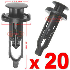 TOYOTA AVENSIS CELICA BUMPER TRIM CLIPS  PUSH RIVET 9mm X20