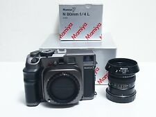 Mamiya 7 Medium Format Rangefinder Film Camera with 80mm Lens set  Excelent+