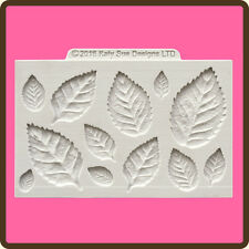 Katy Sue Designs ROSE LEAVES CE0050 Cake Crafting Mould 12 Different Leaves