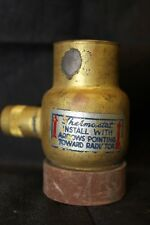 Vintage (33)(I) 1940's - 1950's Inline Thermostat Water Heater Control Valve