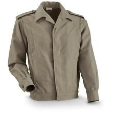 Military Artillery Dress Jacket / Surplus / MED to LRG / SAGE/TAN Gen IKE like