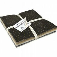 """Shadow Play Woolies Flannel - 10"""" Woolies Neutral Squares Layer Cake"""