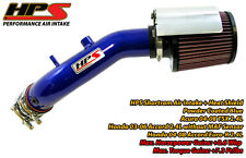 HPS Blue Shortram Air Intake Kit+K&N Filter For Honda 03-06 Accord Euro-R 2.4L