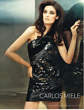PUBLICITE ADVERTISING   2010   CARLOS MIELE  haute couture