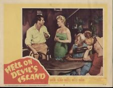 Hell on Devil's Island 11x14 Lobby Card #2