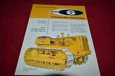 Allis Chalmers HD-6 Crawler Tractor Dealers Brochure YABE11 VER94