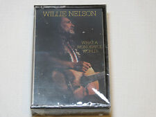 What a Wonderful World by Willie Nelson Cassette Tape 1988 Columbia Records NEW