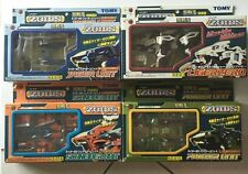 Tomy Zoids Diecast KZ-01,01A,01B,01C BIB Liger Zero with add on ref:62
