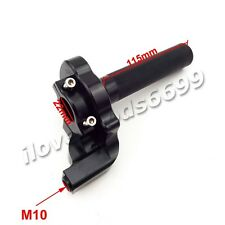 CNC Aluminum 1/4 Turn Twist Throttle For Honda CRF50 XR50 Pit Dirt Bikes Mini