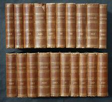 GOETHE`S SÄMMTLICHE WERKE,40 DEKORATIVE BÄNDE DER ZEIT,COTTA,1853,RAR