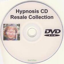 Hypnotherapy CDs on 1 DVD Hypnosis Resale Resell Rights Business Clinical MP3