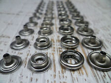 Snap Fasteners - 316 Stainless Steel - Press studs - Marine Grade - 50 Sets