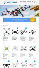Drones Store Website - eCommerce + Amazon Affiliate