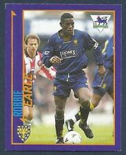 MERLIN 1999-PREMIER LEAGUE KICK OFF- #191-WIMBLEDON-PORT VALE-ROBBIE EARLE