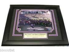 RAY LEWIS FRAMED LAST RIDE DANCE FINAL HOME GAME 8X10 PHOTO BALTIMORE RAVENS