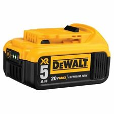 Dewalt 20v Max Lithium Ion Premium Battery Pack With Fuel Gauge (one-pack)