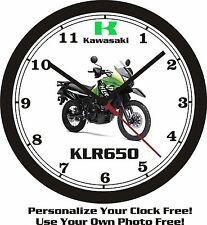 2013 KAWASAKI KLR650 WALL CLOCK-FREE USA SHIP!