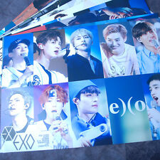 K-POP EXO XOXO 12 Posters Collection Bromide (12PCS) + EXO A4 Photo Sticker New