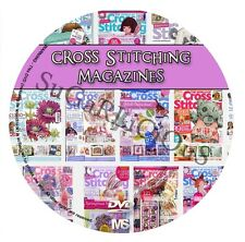 Cross Country Stitching & World Of Cross Stitch Magazines in PDF on dvd