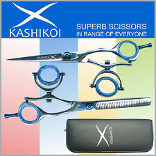 "6"" Professional Barber Hair Dressing Scissors & Shears SWIVEL THUMB"