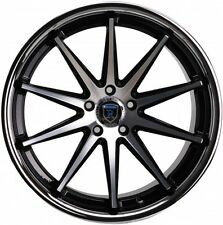 Rohana RC10 19x8.5/9.5 5x112 et42/47 Black Rims Fits Mercedes Benz W204 W212