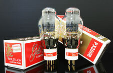 Platium Match 1 Pair Genelax Gold Lion  300B tubes PX300B for tube amplifier DHL