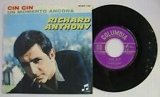 RICHARD ANTHONY (SP 45 Tours) CIN CIN - UN MOMENTO ANCORA -  ITALIE
