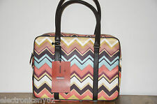 Missoni for Target Multi-Color Zig Zag Travel Tote  New with tags