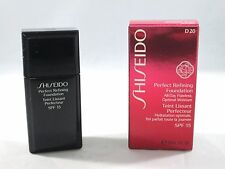 Shiseido Perfect Refining Foundation SPF 15 ~ D20 Rich Brown ~ 1 oz ~ BNIB
