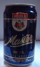 AGUILA MASTER 33CL 5,5% S.A. EL AGUILA MADRID Lata vieja llena can dosen lattina