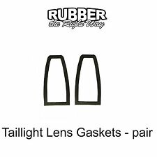 1961 1962 1963 1964 Lincoln Continental Taillight Lens Gaskets - pair