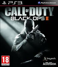Call of Duty Black Ops II (2) Playstation 3 PS3-Totalmente Nuevo-entrega 1st Clase