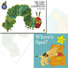 Eric Carle Very Hungry Caterpillar, Where's Spot? 2 Children's Books Collection