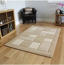 Modern Contemporary Quality Thick Beige Rug 160x230cm